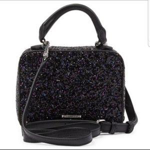 NWT Rebecca Minkoff Glitter Box Crossbody bag